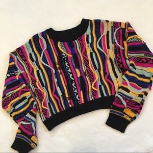 Forever 21 Coogi Style Crop Sweater